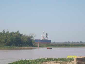 <EM>Vista general del puerto de San Pedro</EM>