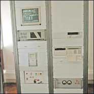 <em>Reloj Atómico HP 5071 perteneciente al ONBA</em>