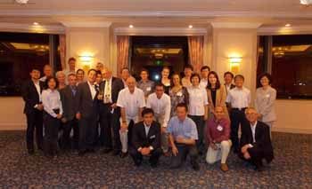 <em>Recepción de bienvenida de SCUFN 26 organizada por el Departamento de Hidrografía y Oceanografía de la Guardia Costera de Japón -JHOD.</em>