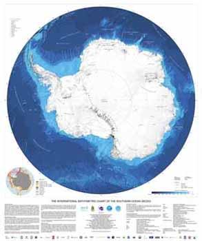 <em>Carta Batimétrica Internacional de los Océanos Australes.</em>
