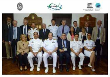 <em>Integrantes de la IX Reunión de la Alianza Regional en Oceanografía para el Atlántico Sudoccidental Superior y Tropical (20-22 marzo, Buenos Aires, Argentina)</em>