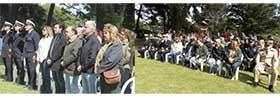 Autoridades e invitados a la Ceremonia del Aniversario