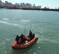 <em>Levantamiento batimétrico en Dársena Miltar Base Naval Mar del Plata</em>