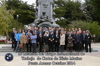 <em>Grupo Internacional de Trabajo de Cartas de Hielo Marino.</em>
