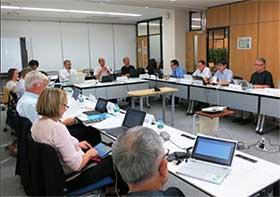 Participantes 11ª Reunión del Comité Científico del Sistema Mundial de Datos (WDS-SC).