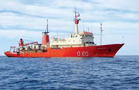 Buque Oceanográfico <acronym title=