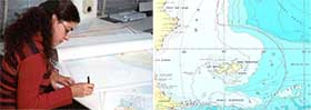 """<em>Buque de investigación oceanográfica ARA """"PUERTO DESEADO"""". </em>"""
