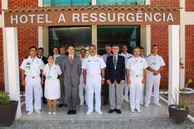 <em>Integrantes de la  8ª Comisión Hidrográfica Regional del Atlántico Sudoccidental.  (20-21 marzo, Arraial do Cabo, Brasil)</em>