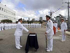 Cambio de Comando en la Agrupación Buques Hidrográficos.
