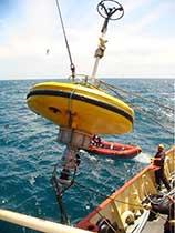 Boya de investigación oceanográfica