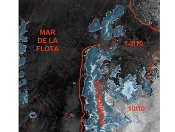 Estudio del hielo en Antártida