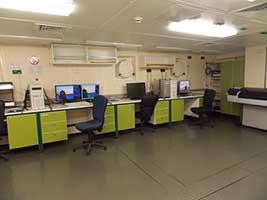Gabinete de procesamiento de datos.