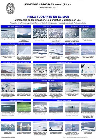 Mural Hielo Flotante en el Mar