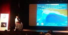 Poster de la IX Jornadas Nacionales de Ciencias del Mar.