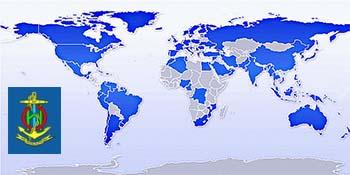 Estados Miembros de la Organización Hidrográfica Internacional.