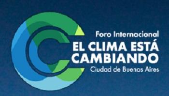 Logo del Foro Internacional el Clima está Cambiando.