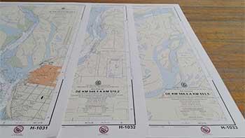 Cartas H-1031, H-1032 y H-1033.