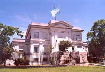 Edificio del Observatorio Naval Buenos Aires.