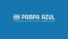 Logo de Pampa Azul.