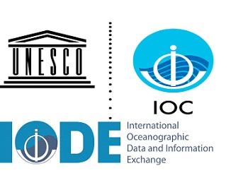 Logos de IODE, IOC Y UNESCO