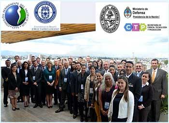 Participantes de diferentes países del primer Taller CPPS (Comisión Permanente del Pacífico Sur) sobre Política Oceánica Regional Integrada.