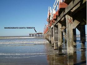 Caja de Conexión y Transmisión de datos de Altura de Marea en Santa Teresita.