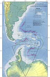 Límite Exterior de la Plataforma Continental Argentina.<br/><a href=