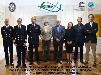 XII Reunión de la Alianza Regional en Oceanografía para el Atlántico Sudocciental Superior y Tropical.