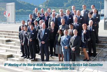 8va Reunión del Subcomité Mundial de Avisos a la Navegación de la Organización Hidrográfica Internacional.
