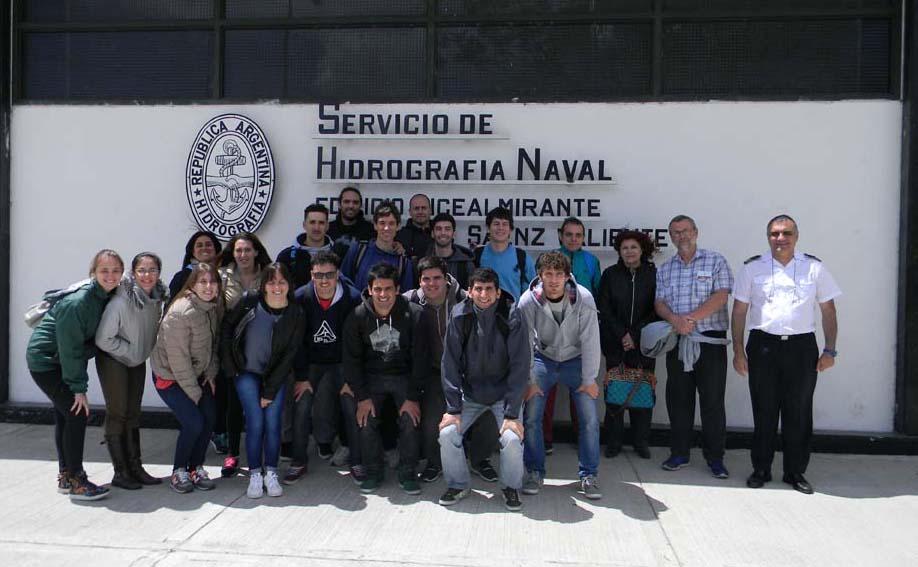 Estudiantes de la Universidad Nacional del Litoral.