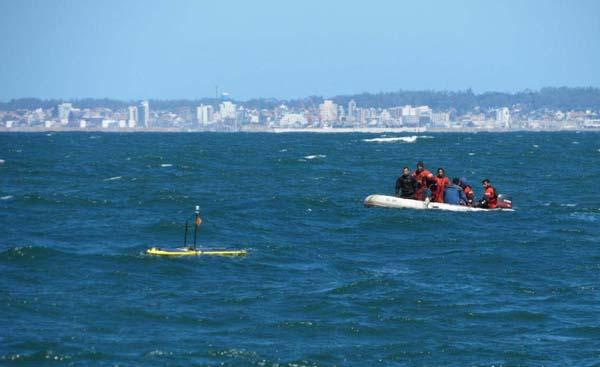 Seguimiento del WAVE GLIDER para su posterior recuperación
