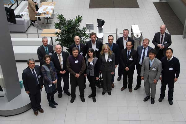 Participantes del encuentro ETSI6.