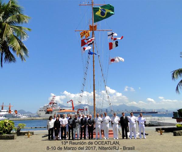 Participantes de OCEATLAN XIII.