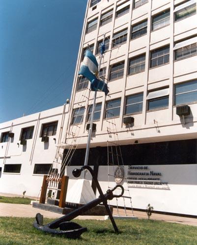 Edificio del Servicio de Hidrografía Naval.
