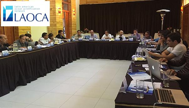 Participantes del Latin American Ocean Acidification Network (LAOCA)