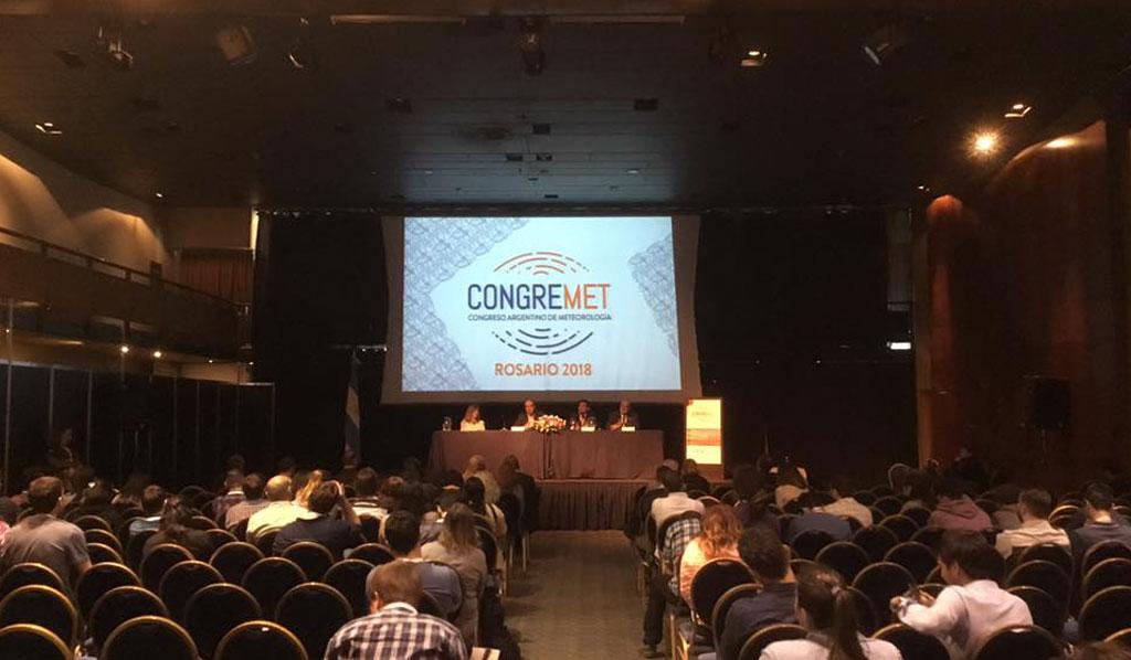 13º Congreso Argentino de Meteorología en la ciudad de Rosario.